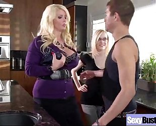 Hard sex on tape with wench bigtis amateur wife (alura jenson) mov-03