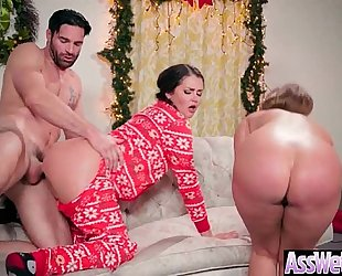Anal hardcore sex tape with floozy large curvy butt slutty wife (allie haze & harley jade) vid-08