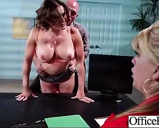 Busty hotwife (krissy lynn) have a fun hardcore sex in office movie-22