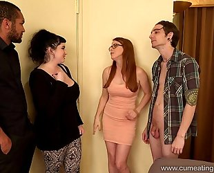 Penny pax copulates a bbc in front of her spouse