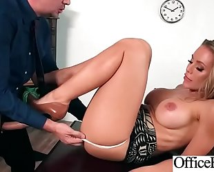Busty office dirty slut wife (nicole aniston) acquire hardcore team-fucked vid-26