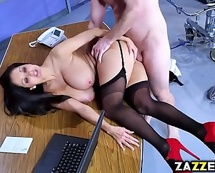 Dr ava addams bends over for bill baileys doggy position