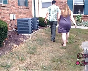 Busted neighbor's amateur wife catches me recording her c33bdogg