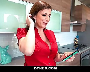 Dyked - milf coach sara jay bonks small legal age teenager