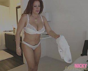 Sara jay bombshell latin chick mama nicky ferrari and charly in la mexicana part three