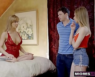 Momsteachsex - breasty milf acquires sexy mother's day three-some! s8:e4