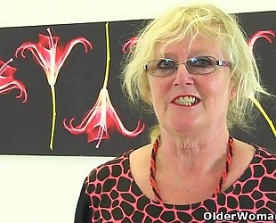 British gilf claire knight feels like a admirable stuffing