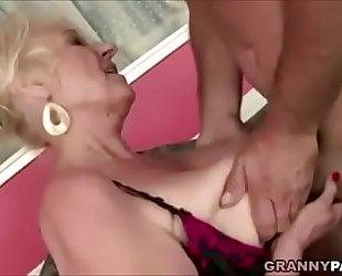 Granny bonks recent yoga teacher