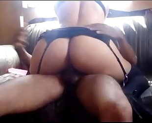 Hot mexican whore with large a-hole riding!