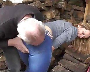 Gang group-sex for a wench milf