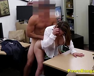 Foxy milf bargains with her pantoons and snatch