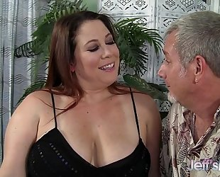 Chubby milf rubee acquires her obese twat filled