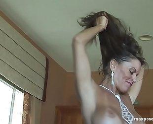 Tracey lynn spivey topless striptease sexy milf