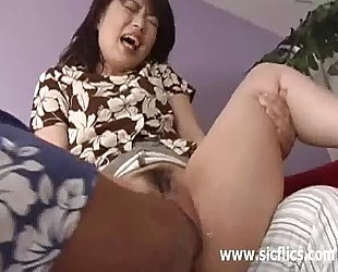 Asian housewife brutally fisted untill this babe screams in agonorgasmos