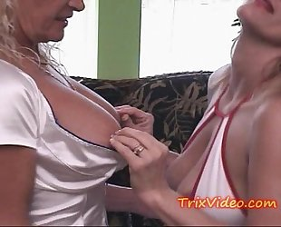 Taboo dad bonks housewife and daughter..what whores!