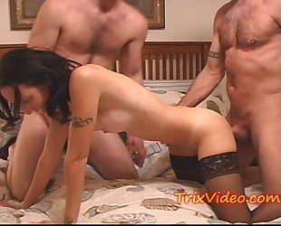 Milf black cock sluts has her dream fuck