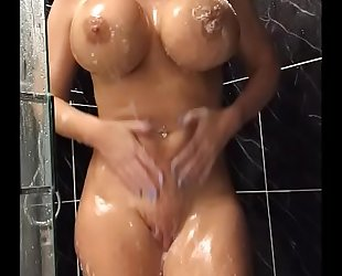 34jj blond shaves her love tunnel and bonks her taut holes